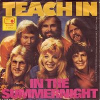 Cover Teach In - In The Summernight