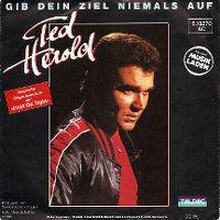 Cover Ted Herold - Gib dein Ziel niemals auf