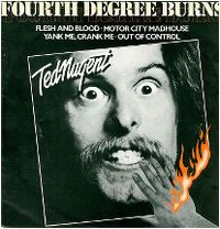 Cover Ted Nugent - Flesh And Blood