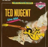 Cover Ted Nugent - Live USA