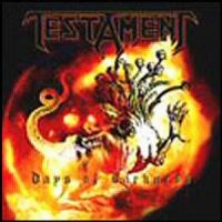 Cover Testament - Days Of Darkness