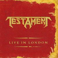 Cover Testament - Live In London