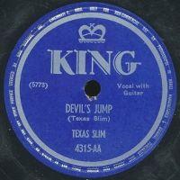 Cover Texas Slim - Devil's Jump