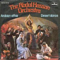 Cover The Abdul Hassan Orchestra - Arabian Affair