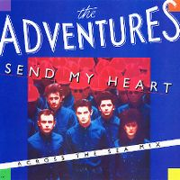 Cover The Adventures - Send My Heart
