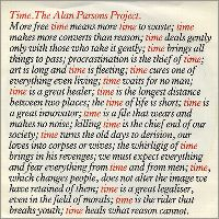 Cover The Alan Parsons Project - Time