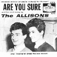 Cover The Allisons - Are You Sure