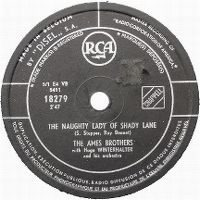 Cover The Ames Brothers - The Naughty Lady Of Shady Lane