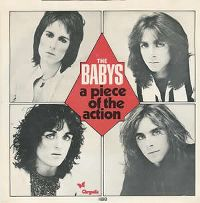 Cover The Babys - A Piece Of The Action
