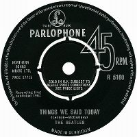 Cover The Beatles - Things We Said Today