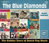 Cover The Blue Diamonds - The Golden Years Of Dutch Pop Music