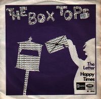 Cover The Box Tops - The Letter