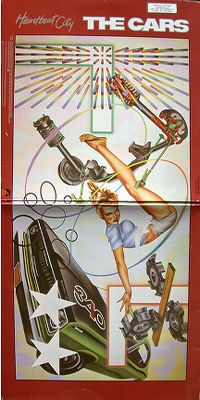 Cover The Cars - Heartbeat City