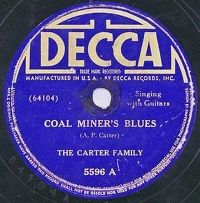 Cover The Carter Family - Coal Miner's Blues