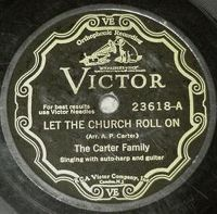 Cover The Carter Family - Let The Church Roll On