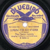 Cover The Carter Family - Longing For Old Virginia