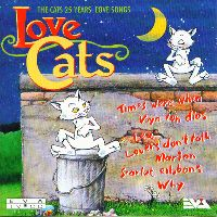 Cover The Cats - Love Cats 25 Years Lovesongs