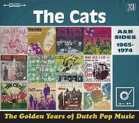 Cover The Cats - The Golden Years Of Dutch Pop Music