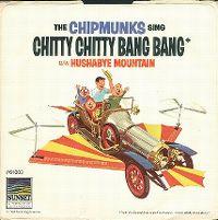 Cover The Chipmunks - Chitty Chitty Bang Bang