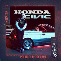 Cover The Cratez & Bonez MC - Honda Civic