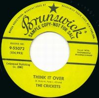 Cover The Crickets - Think It Over