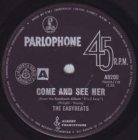 Cover The Easybeats - Come And See Her