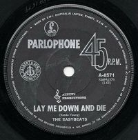 Cover The Easybeats - Lay Me Down And Die