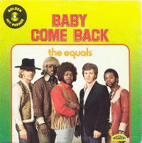 Cover The Equals - Baby, Come Back
