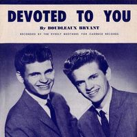 Cover The Everly Brothers - Devoted To You