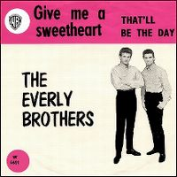 Cover The Everly Brothers - Give Me A Sweetheart