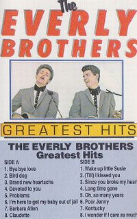 Cover The Everly Brothers - Greatest Hits