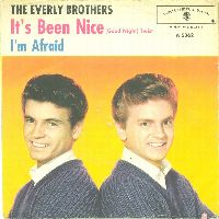 Cover The Everly Brothers - It's Been Nice (Goodnight)