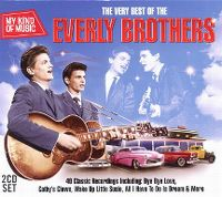 Cover The Everly Brothers - My Kind Of Music - The Very Best Of The Everly Brothers