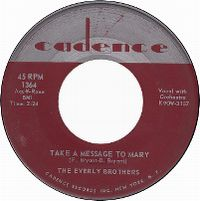 Cover The Everly Brothers - Take A Message To Mary