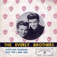 Cover The Everly Brothers - That's Old Fashioned