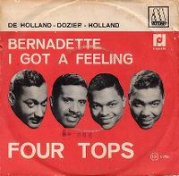 Cover The Four Tops - Bernadette