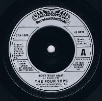 Cover The Four Tops - Don't Walk Away