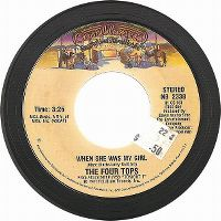 Cover The Four Tops - When She Was My Girl