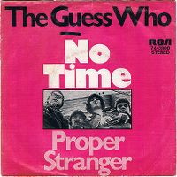 Cover The Guess Who - No Time