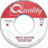 Cover The Guess Who - Pretty Blue Eyes