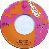 Cover The Guess Who - These Eyes