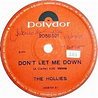 Cover The Hollies - Don't Let Me Down