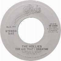 Cover The Hollies - The Air That I Breathe
