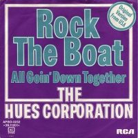 Cover The Hues Corporation - Rock The Boat