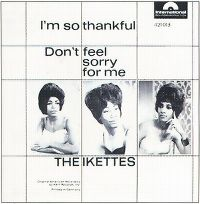 Cover The Ikettes - Don't Feel Sorry For Me