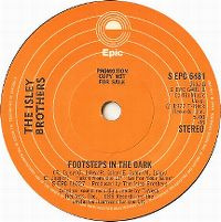 Cover The Isley Brothers - Footsteps In The Dark