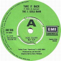 Cover The J. Geils Band - Take It Back