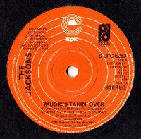 Cover The Jacksons - Music's Takin' Over