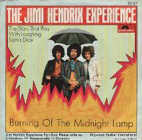 Cover The Jimi Hendrix Experience - Burning Of The Midnight Lamp