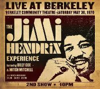 Cover The Jimi Hendrix Experience - Live At Berkeley